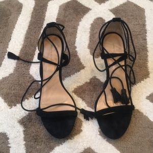 Banana Republic Suede Heels 8.5